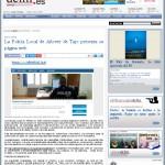 20 enero. dclm.es. Web policía local