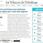 25 enero. La tribuna de Toledo. Web policía local.