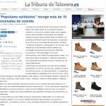 9 enero. La Tribuna de Talavera. Populares solidarios
