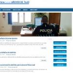 Web Policía Local de Añover de Tajo 4