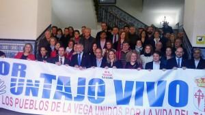 Alcaldes en defensa del Tajo
