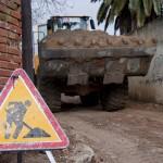Obras en calle Alameda